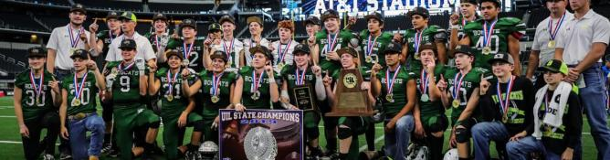 Blum outraces McLean, captures first football state title